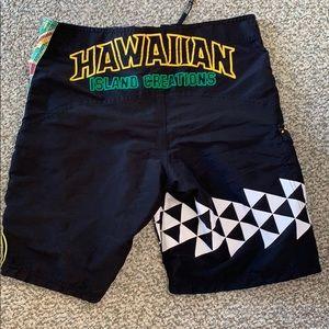 Men's board shorts Hawaiian